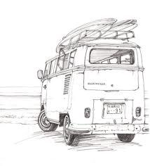 Drawn vans simple Drawings boards Pinterest drawing Gorgeous