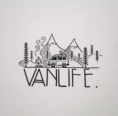 Drawn vans simple Art Road