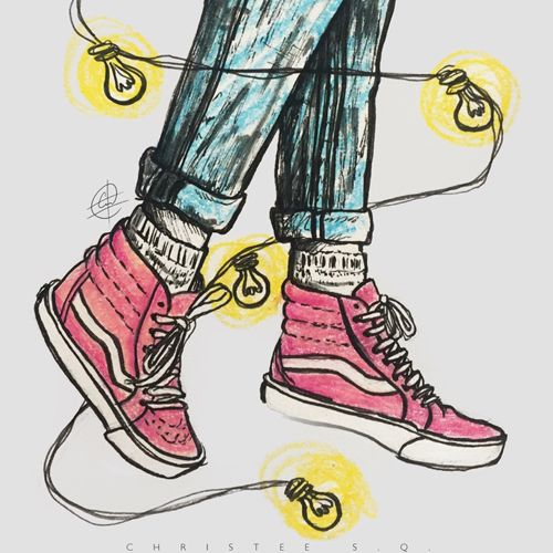 Drawn vans simple Images casual  on for