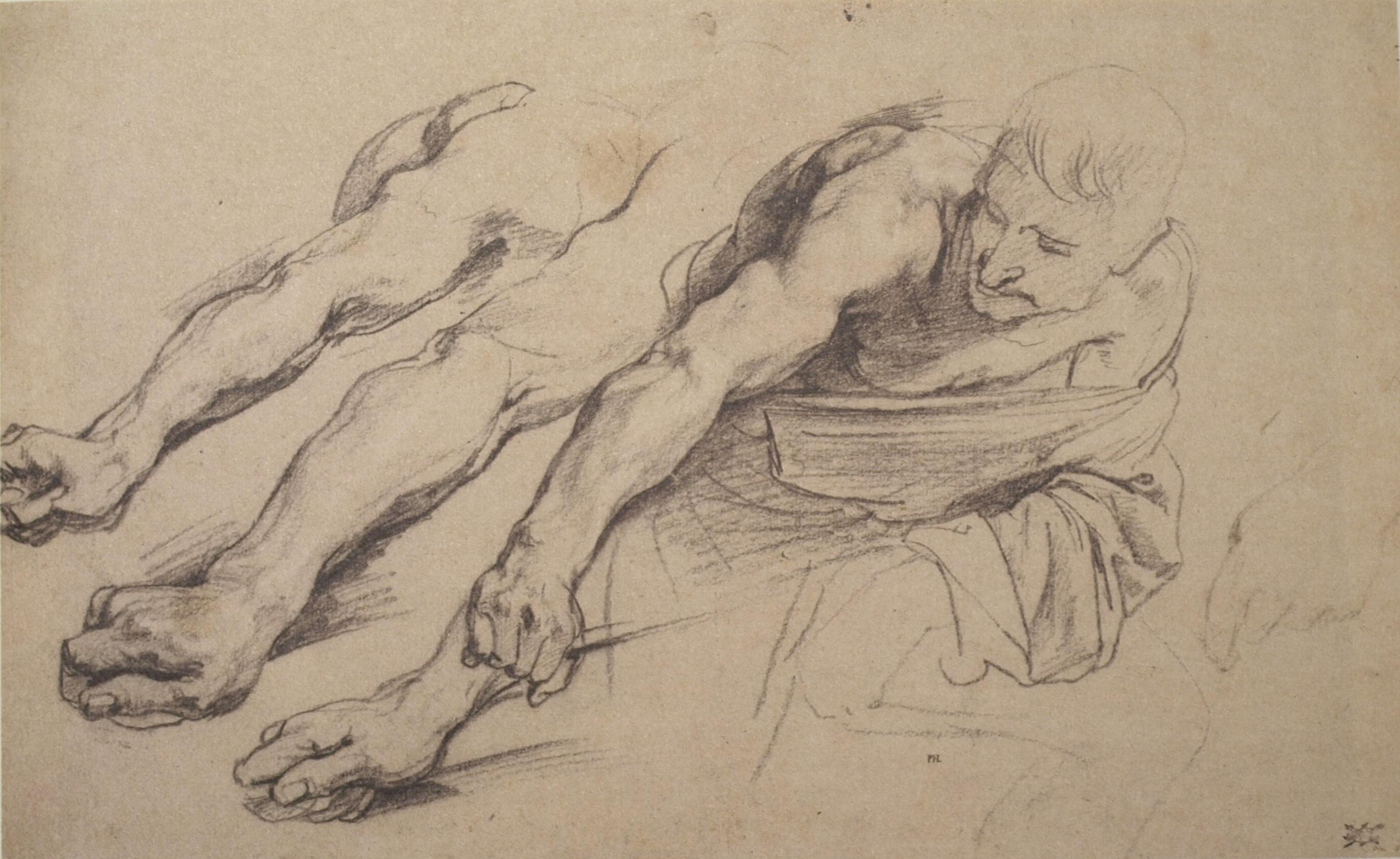 Drawn vans skeleton Dyck 1641 Van Antony 1641