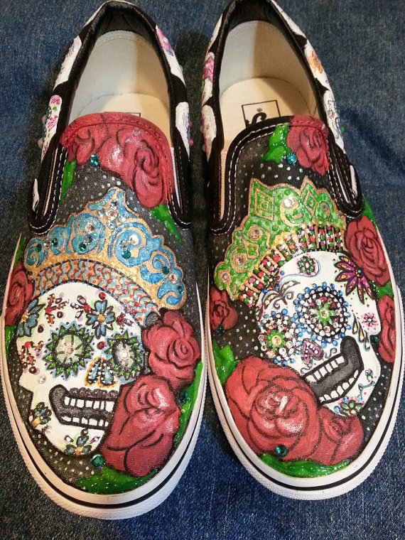 Drawn vans skeleton Art Design Sharpie on by