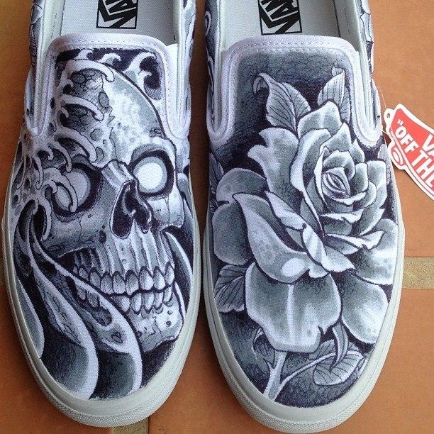 Drawn vans skeleton Shoes Pinterest vans Amazing Amazing
