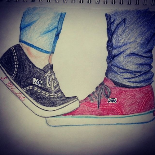 Drawn vans sketch It's at it's Where And