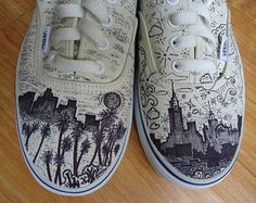 Drawn vans studded SALE Vans Style Shoes