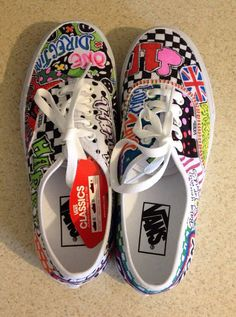 Drawn vans studded Add Hallowed Ground by sneakers