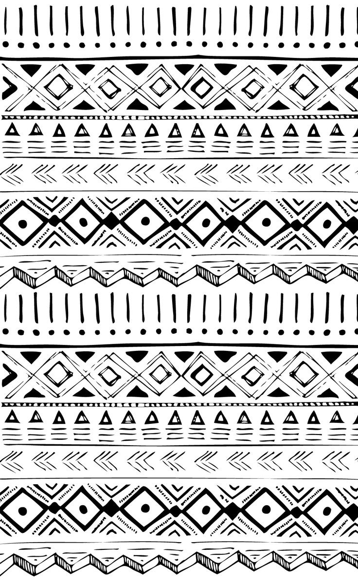Drawn artistic tribal #15
