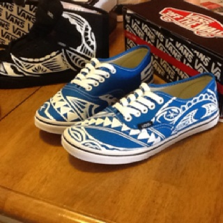 Drawn vans tribal pattern By Made images polynesia on