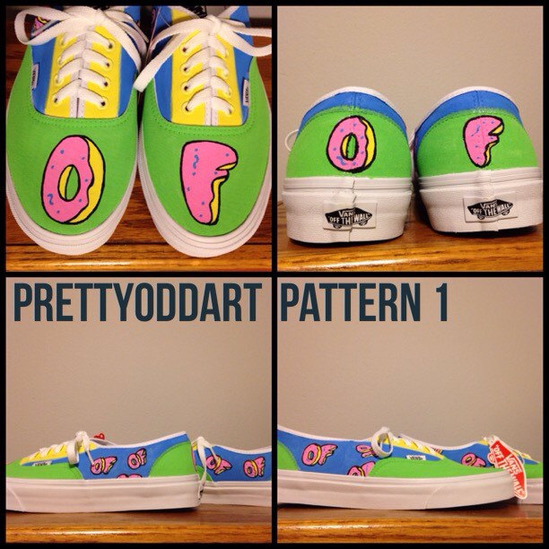 Drawn vans tyler the creator Shoes/Vans item? Odd Future Painted