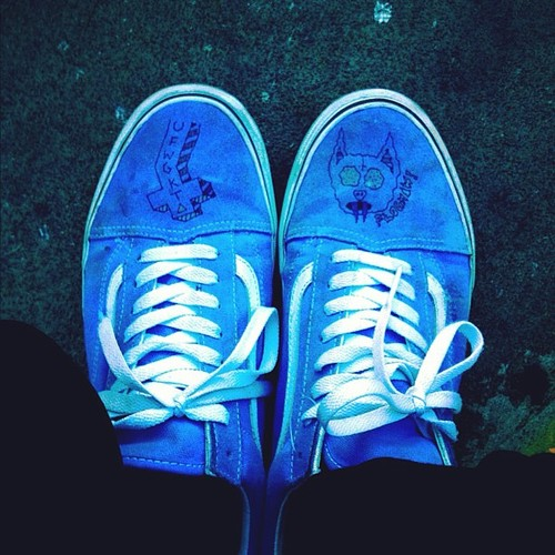 Drawn vans tyler the creator Future shoes  Creator's shoes