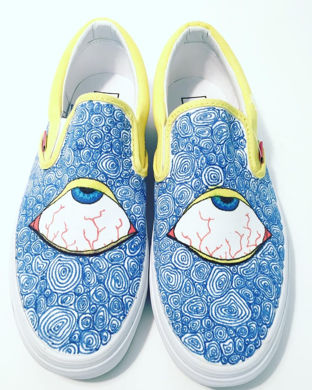 Drawn vans unique Custom Zenith Culture Shoe IMG_7963