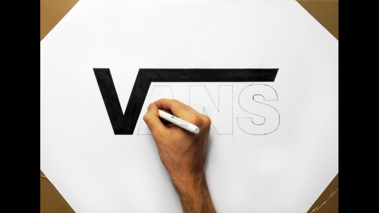 Drawn vans vans logo Logo Draw How to the