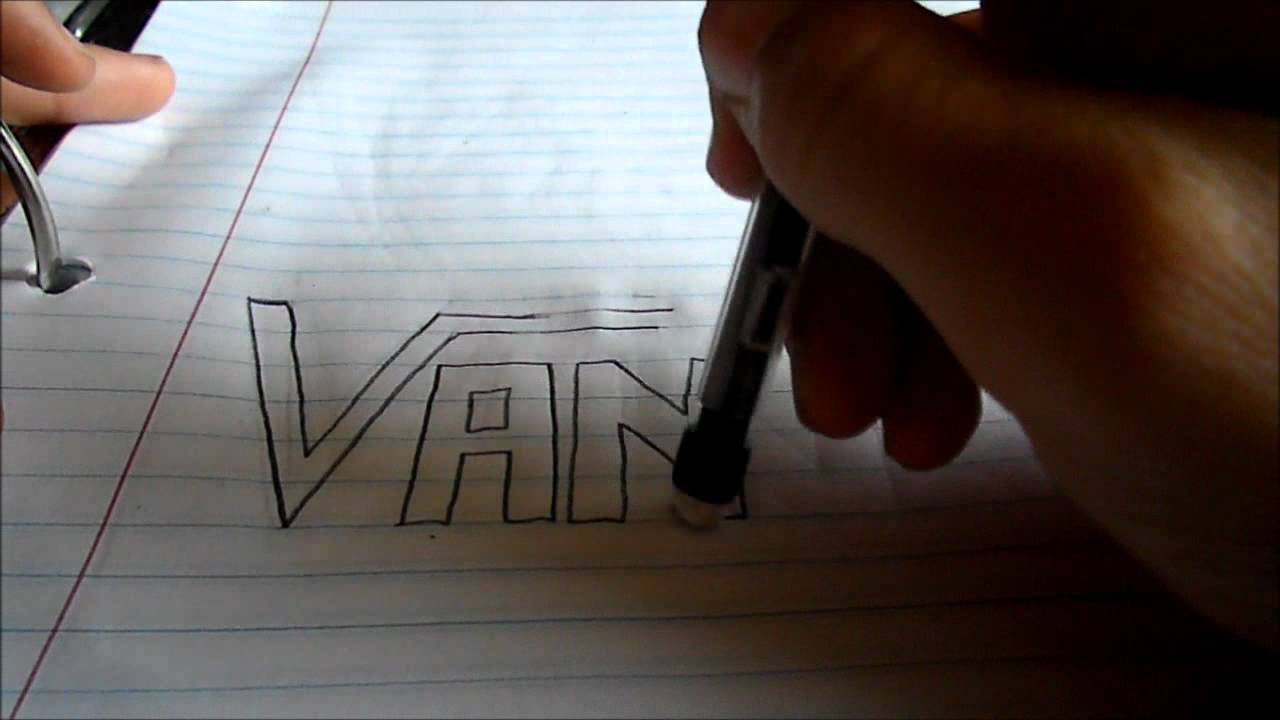 Drawn vans vans logo Drawing : YouTube Vans