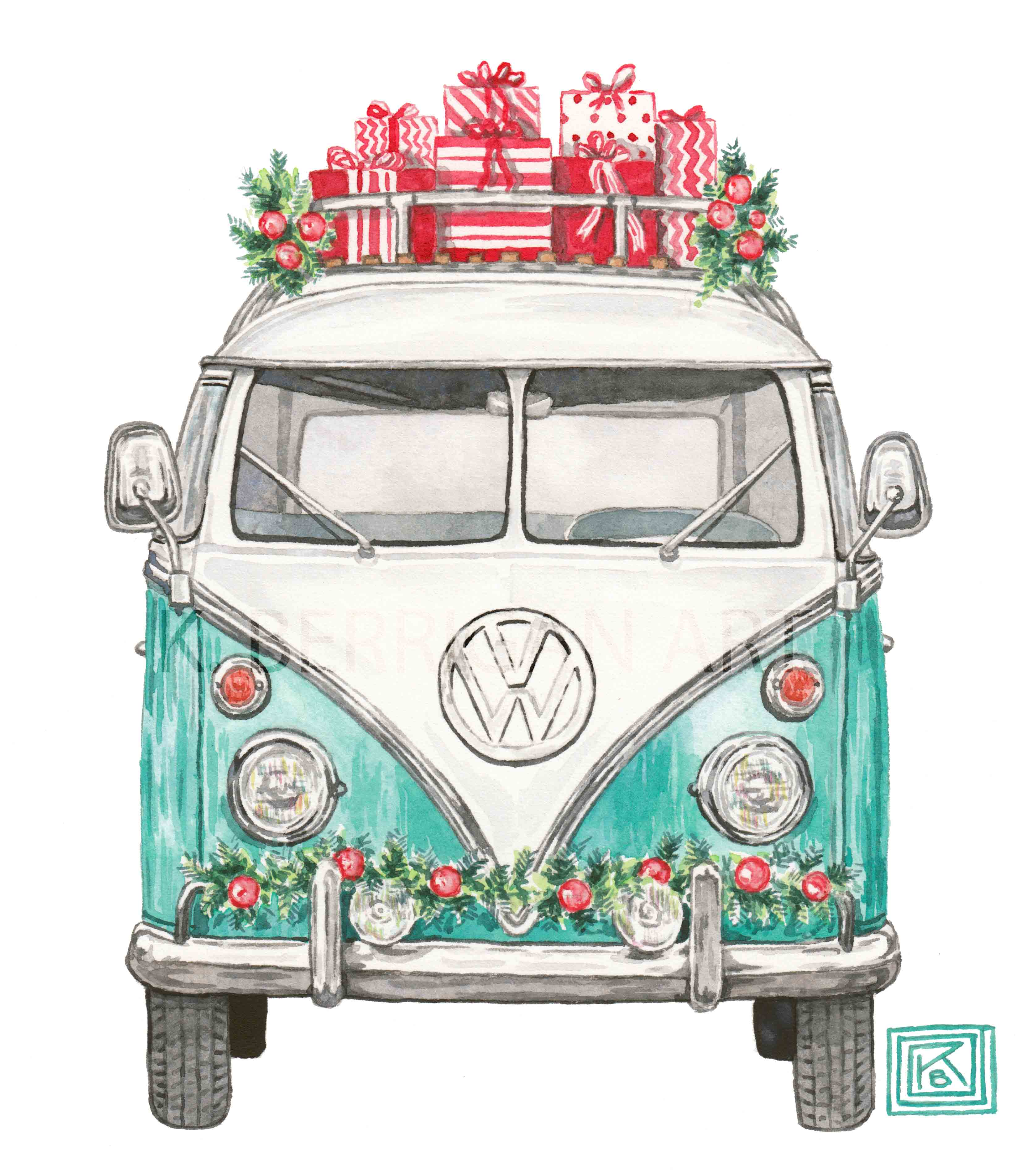 Drawn vans watercolor Van Berrigan on The Print