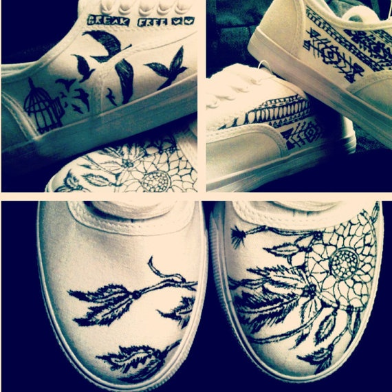 Drawn vans watercolor My like new this ideas