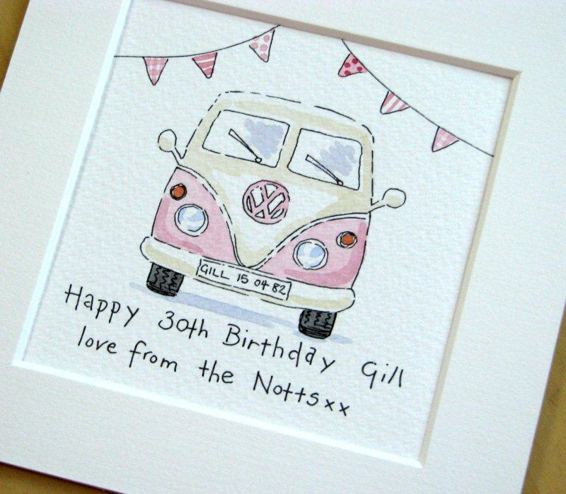 Drawn vans watercolor Pinterest campervan Vw drawing vw