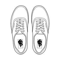 Drawn sneakers white van Search VansKids http://ift Sketchbook on