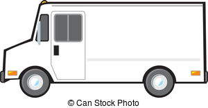 Fed Ex clipart food truck Clip used Stock American typical