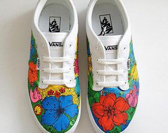 Drawn vans woman Vans Custom Custom shoes Vans