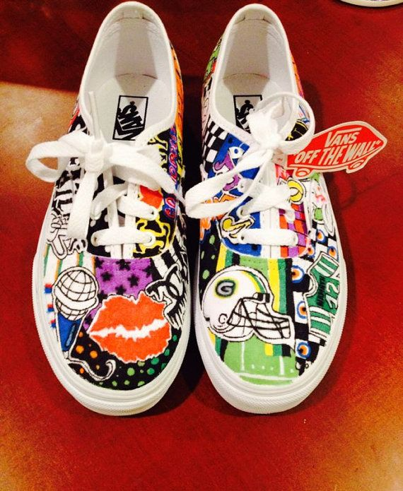 Drawn vans woman Images Customized on the best