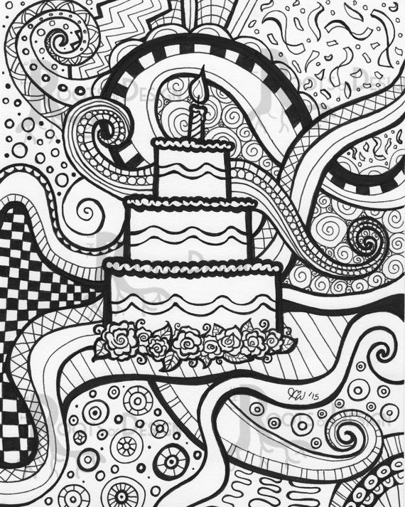 Drawn vans zentangle Birthday pour pages about Zentangle