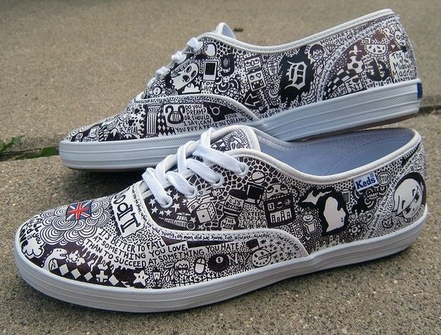 Drawn vans zentangle Find Pinterest on and Pin