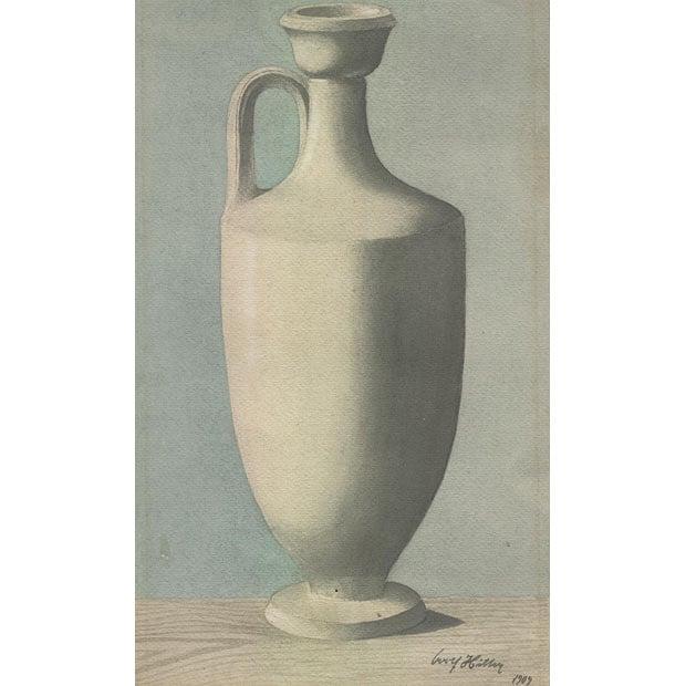 Drawn vase Telegraph 1909 be art in