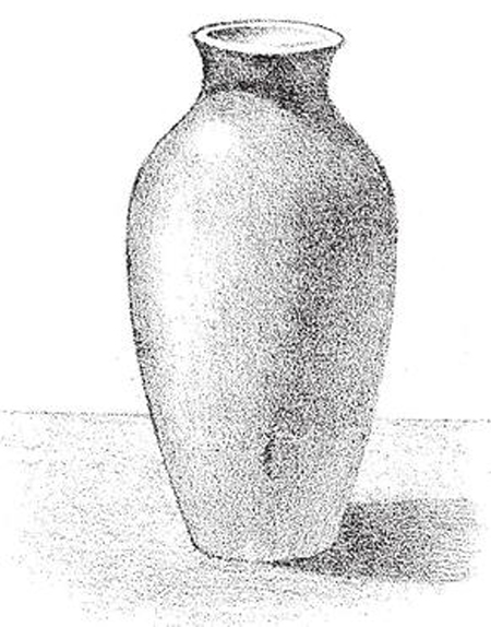 Drawn vase Drawing Tutorial How to shades