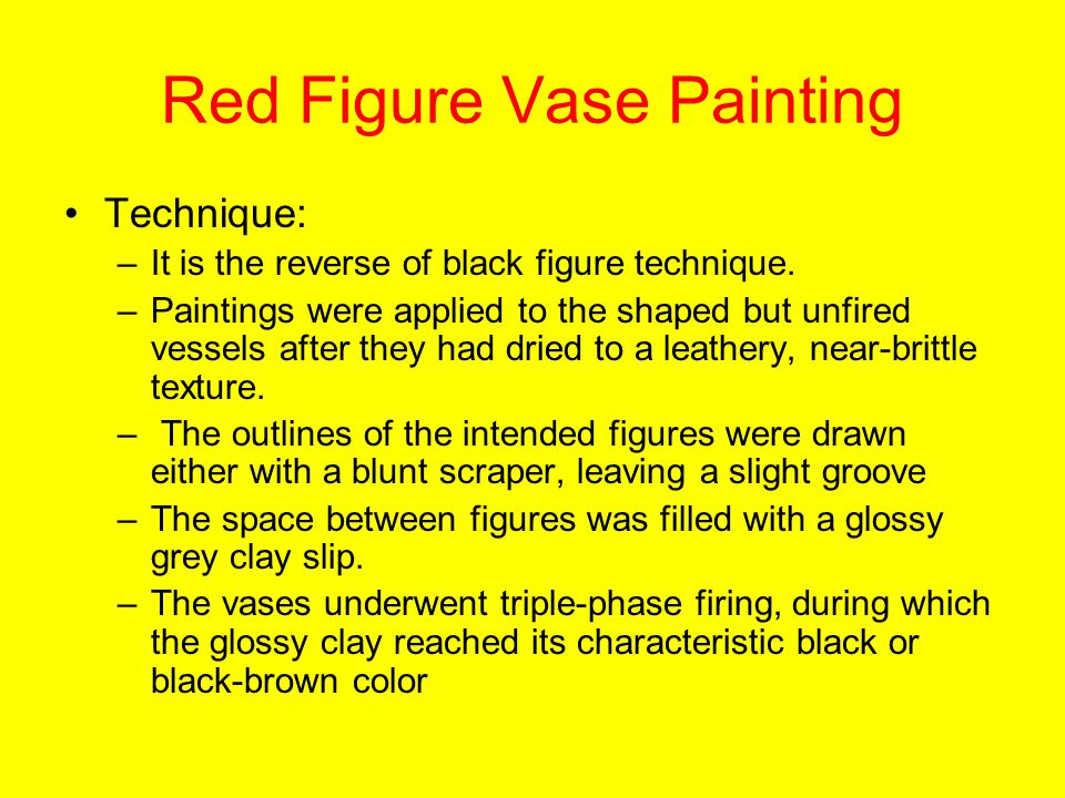 Drawn vase black and red Painting download Figure Painting Figure