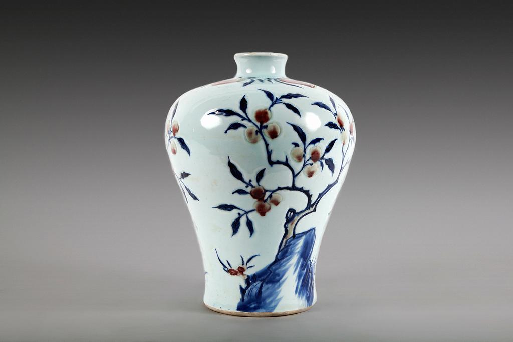 Drawn vase chinese HIS MASON & YORK 120TH