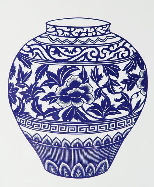 Drawn vase chinese 25+ vase on of chinese