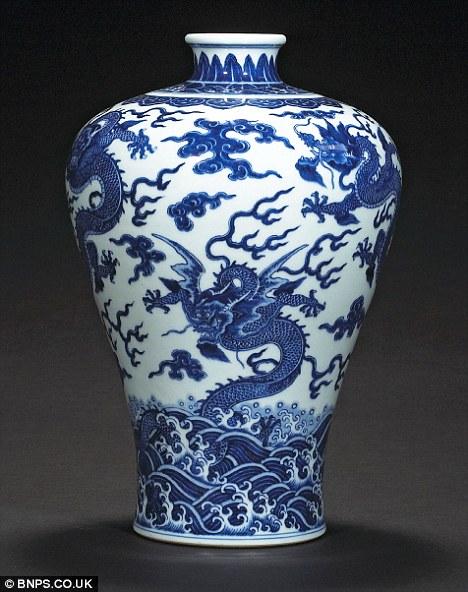 Drawn vase chinese Qianlong a Chinese estimate dates