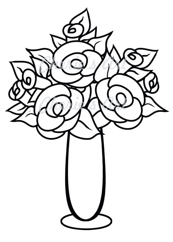 Drawn vase clipart Clipartpanda Clipart  com/categories/flowers in