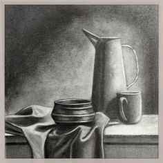 Drawn vase dead nature Pencil Easy DrawingsDrawing PaintingsGraphiteCharcoalDrawingDead IdeasArt