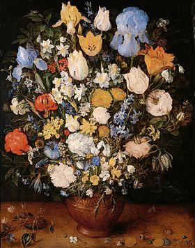 Drawn vase dead nature (1568–1625) Netherlandish the Bouquet Still