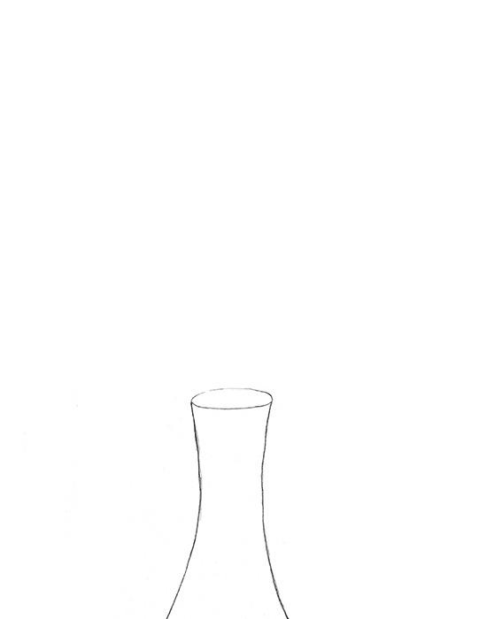 Drawn vase easy Vase the Drawing Draw Step