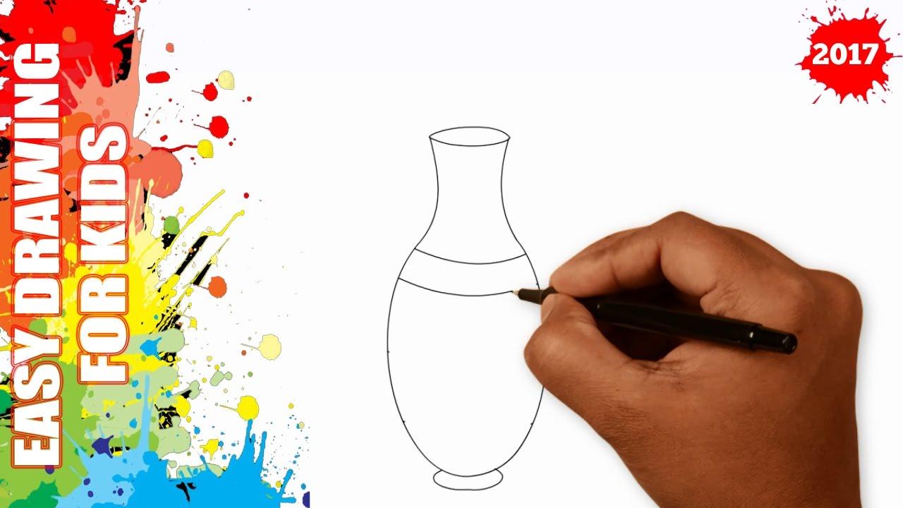 Drawn vase easy In 50s vase a for
