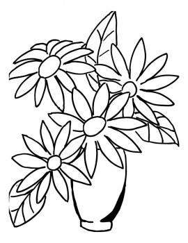 Drawn vase flower bouquet Flower Flower Bouquets flower and
