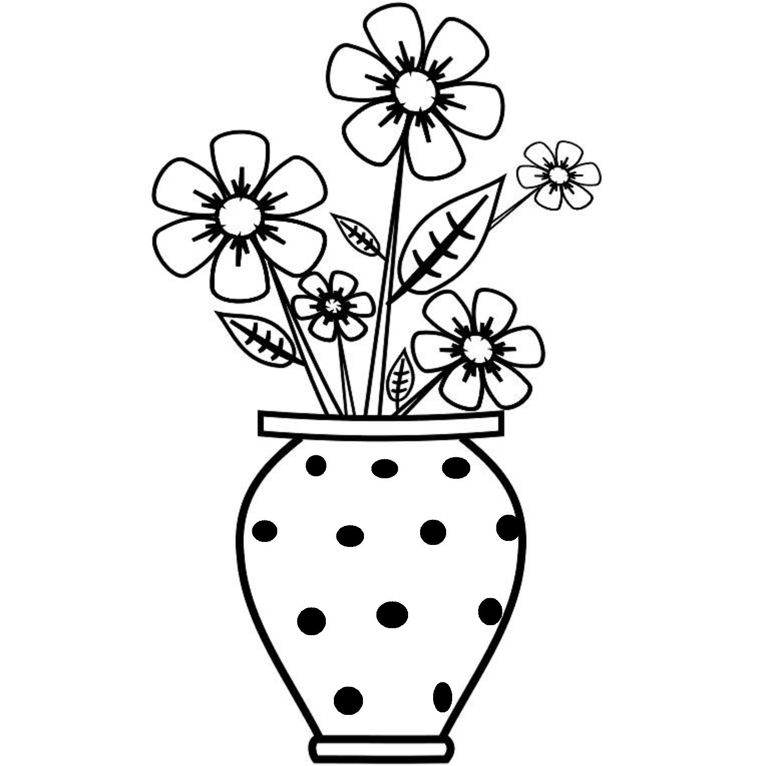 Drawn vase flower vase Vase How A Flower A