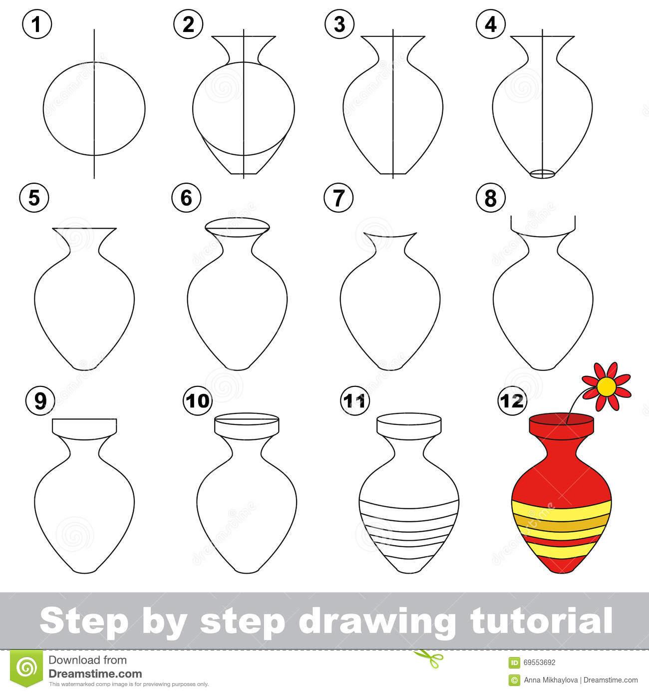 Drawn vase full flower Drawing To How Full For