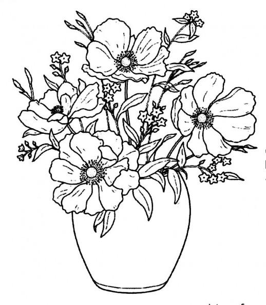 Drawn vase full flower Flower transparent Google  Google