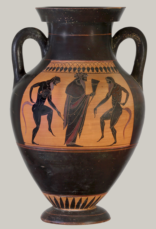 Drawn vase greek pottery Terracotta Techniques  Painting: Essay