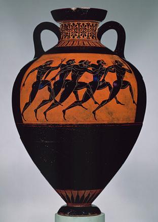 Drawn vase greek pottery Art Rumney pottery source Greek