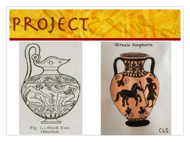 Drawn vase greek vase Draw Pottery Greek Ancient