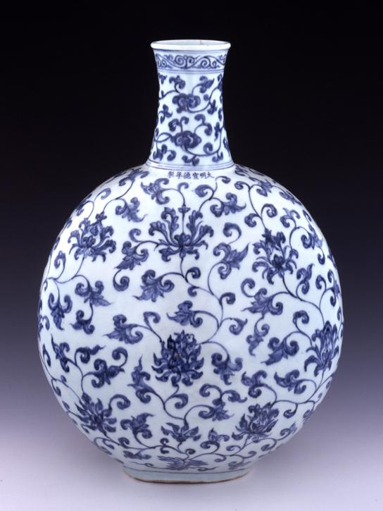 Drawn vase ming vase Ming Chinese  Patterns Vase