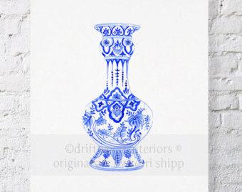 Drawn vase ming vase Vase Jar Ginger Ming Ming