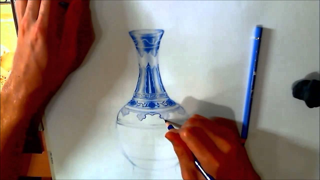 Drawn vase ming vase To YouTube How  Vase