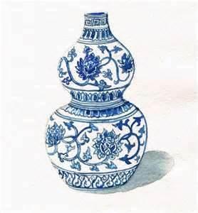 Drawn vase ming vase Pinterest for about images Detail
