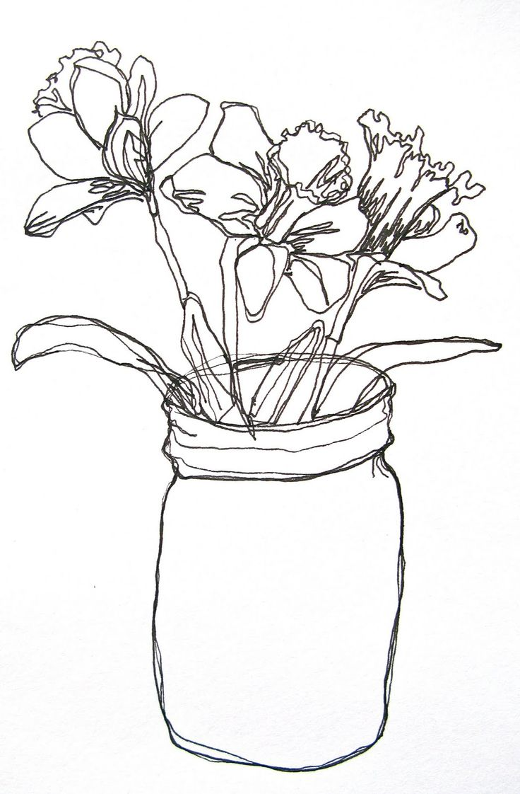 Drawn vase one Is ideas drawing Best Simple