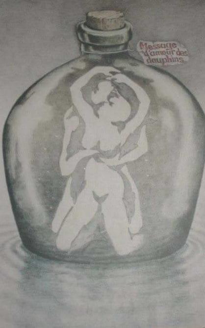 Drawn vase optical illusion & Vase Not so optical