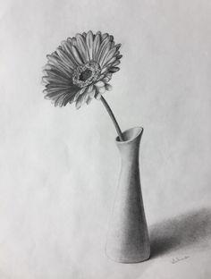 Drawn vase pencil drawing Life still pencil art de